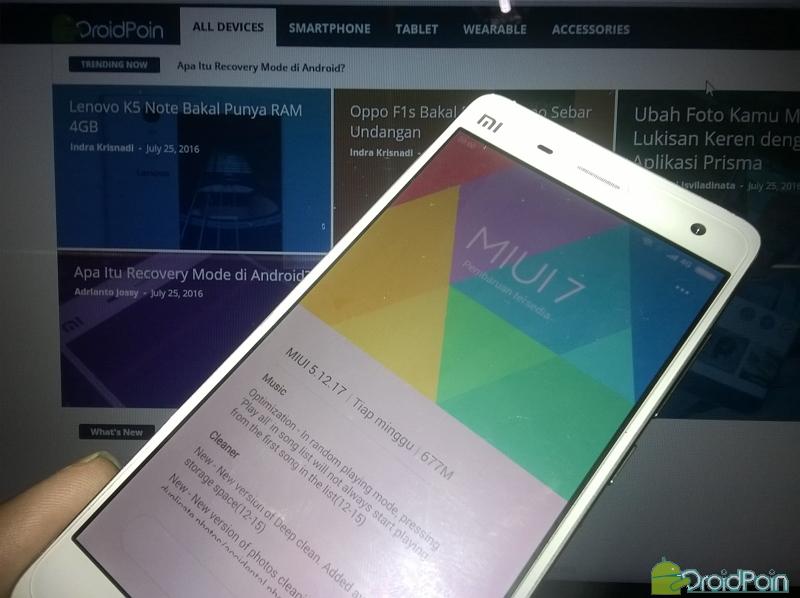 Memahami Siklus Update pada Xiaomi Mi3 dan Mi4