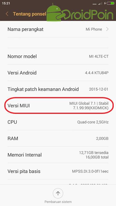 Cara Install TWRP Recovery di Xiaomi