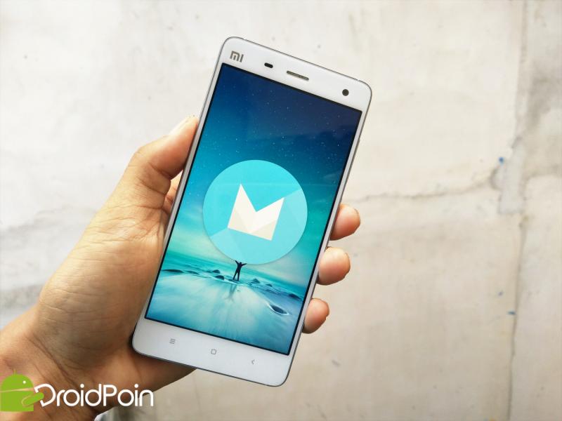 Xiaomi Mi4-Android Marshmallow v6