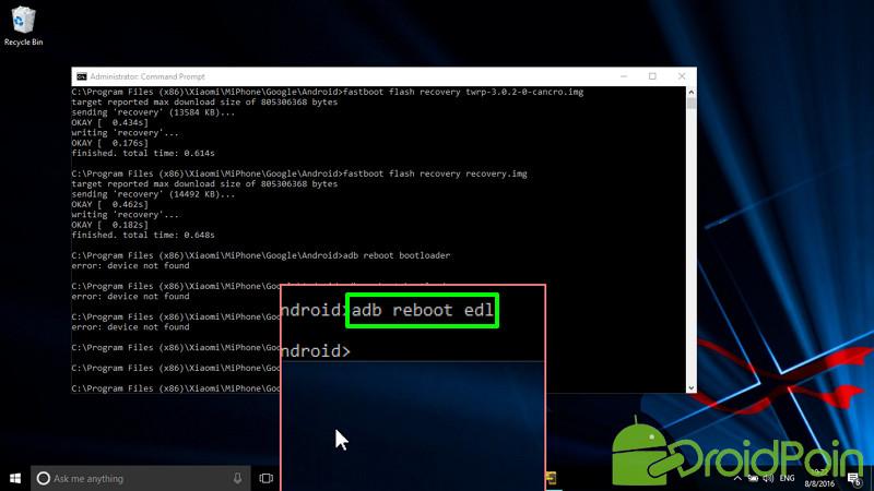Cara Install ROM MIUI via MiFlash Tools