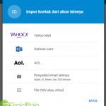 Cara Mengimpor Kontak ke Akun Gmail