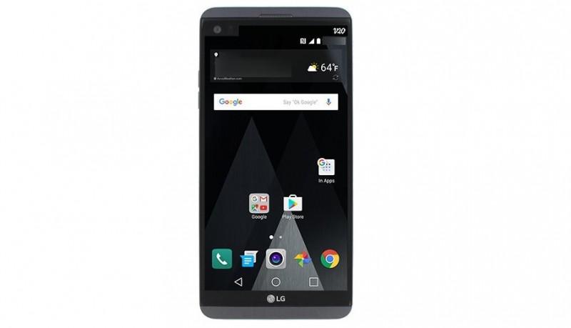 Bocoran Desain LG V20