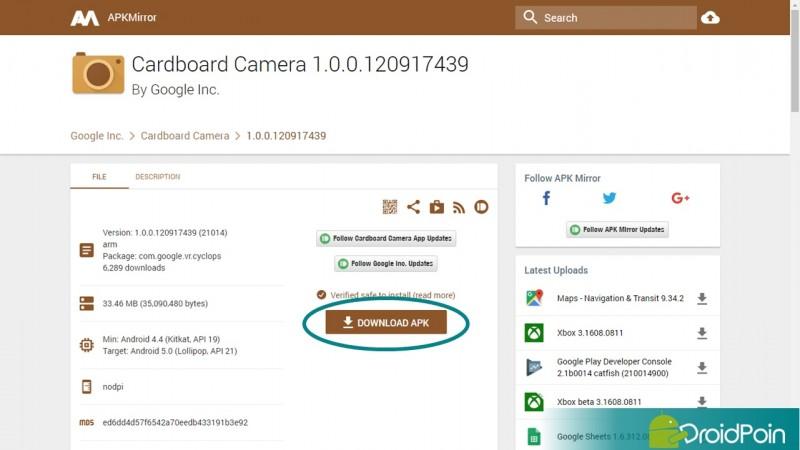 Cara Paling Mudah Download  apk Aplikasi Android | DroidPoin