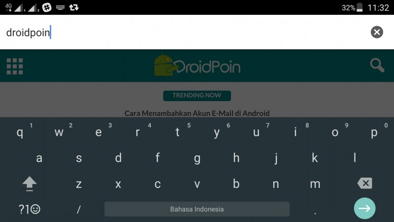 Ganti Keyboard Android