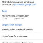 Mengubah Opsi Penyimpanan Sandi di Chrome