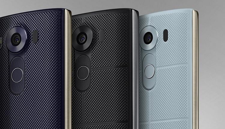 LG V20 - Ilustrasi