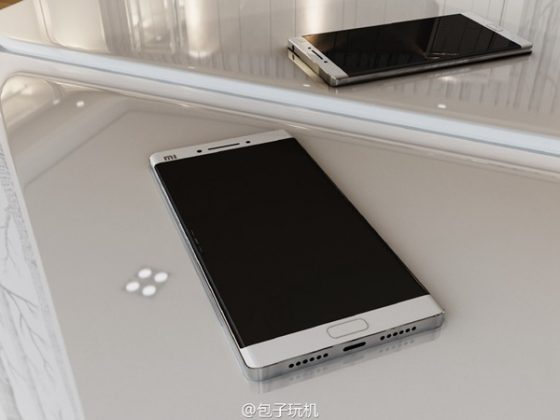 Bocoran Gambar Xiaomi Mi Note 2 Kembali Beredar