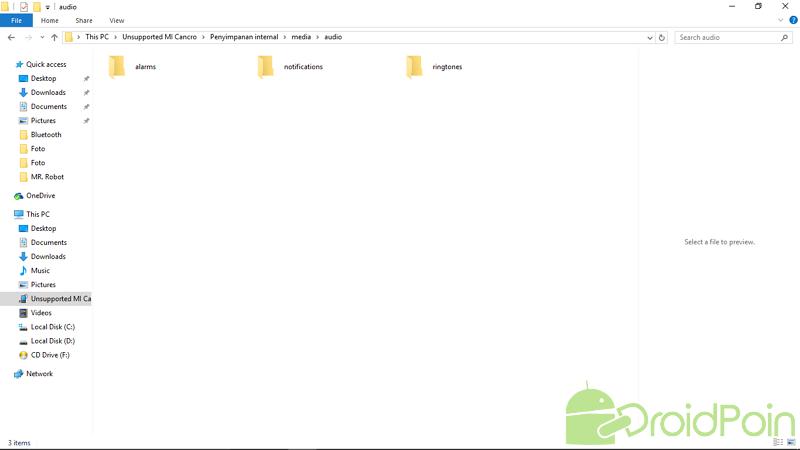 Mengganti Ringtone pada Android