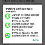 Cara Mengubah Pengaturan Update Aplikasi di Play Store