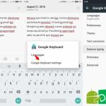 google keyboard settings alternatif