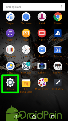 Cara Menonaktifkan Aplikasi pada Android