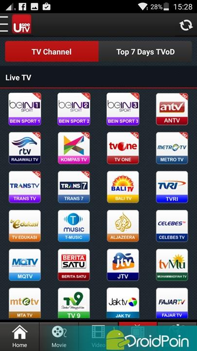 4 Aplikasi Android untuk Nonton TV | DroidPoin