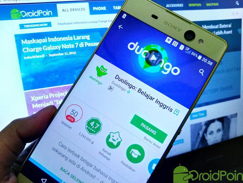 4 Aplikasi Android untuk Belajar Bahasa Inggris