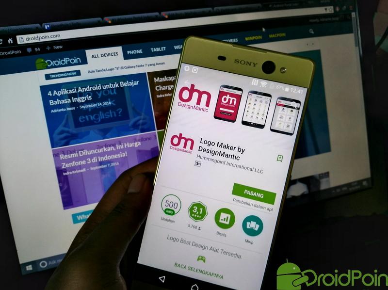 3 Aplikasi Android untuk Membuat Logo