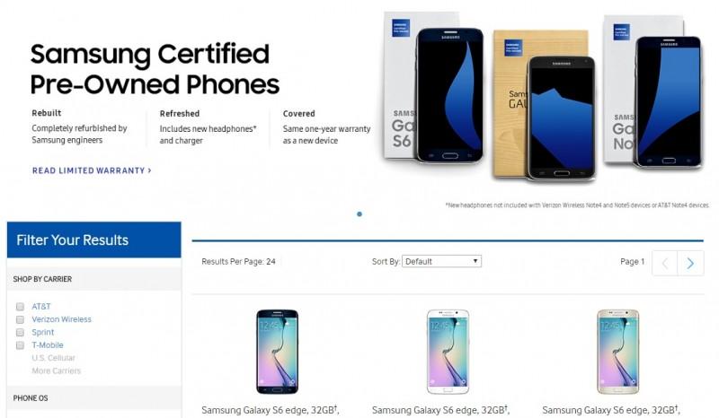 Samsung Refurbished Smartphone