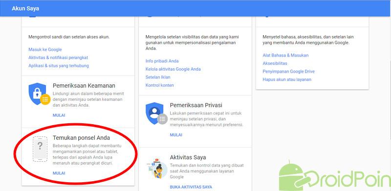 Cara Menemukan Lokasi Ponsel Android yang Hilang atau Dicuri