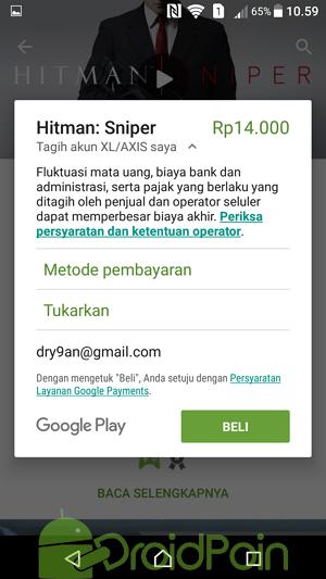 Cara Membeli Aplikasi & Game di Play Store