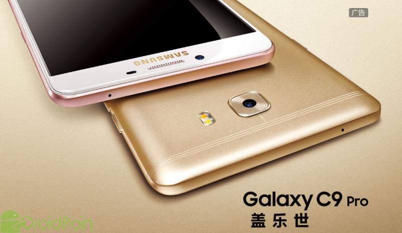 Samsung Resmi Merilis Galaxy C9 Pro