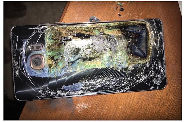 Galaxy Note 7 Versi 'Aman' Lagi-Lagi Terbakar