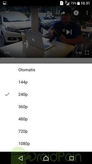 Cara Mengubah Resolusi Video di Aplikasi Youtube