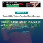 Cara Menambahkan Website ke Home Screen Android