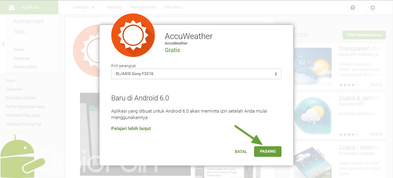 Cara Install Aplikasi di Android via PC