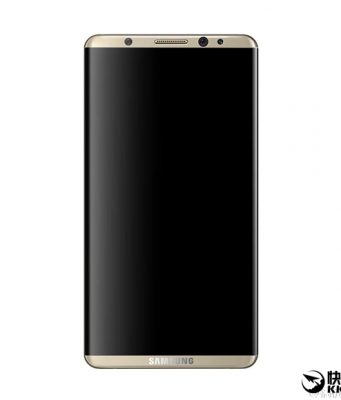 Render Samsung Galaxy S8 Terbaru Kembali Muncul