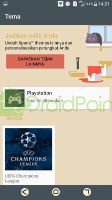 2 Cara Mengganti Tema di Sony Xperia