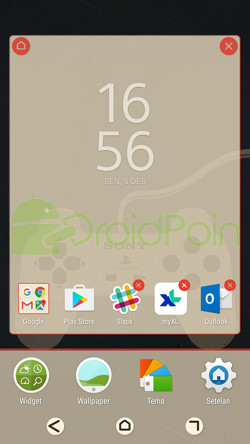 3 cara mengganti wallpaper android droidpoin for Wallpaper home screen android