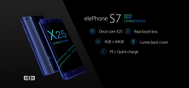 Lebih Powerful: Elephone S7 X25 Limited Edition Sudah Bisa Dibeli