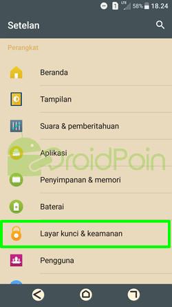 Cara Mengenkripsi Android