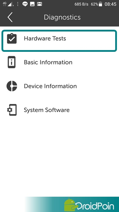Cara Diagnosa (Test Hardware) Android Lenovo | DroidPoin