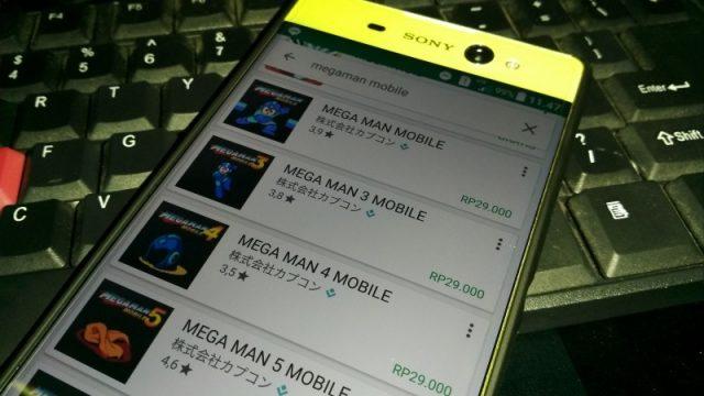 Capcom rilis 6 Game Megaman ke Play Store