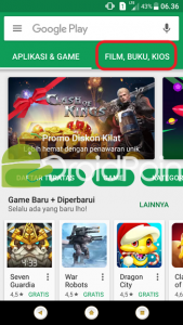 Cara Membeli dan Menyewa Film di Play Store
