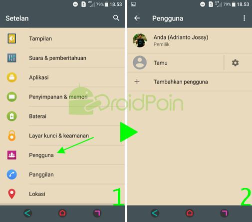 Beginilah Cara Mengakses Mode Tamu di Android