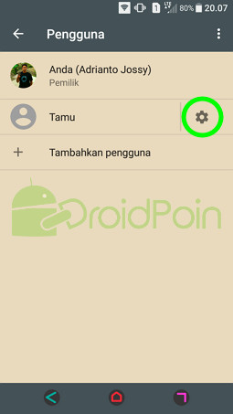 Cara Membuat Mode Tamu di Android Bisa Melakukan Panggilan Telepon