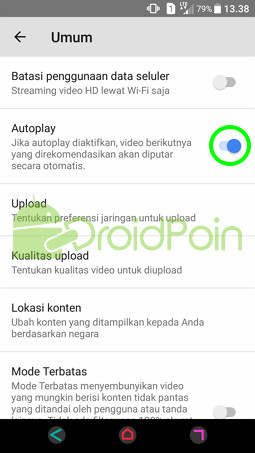 Cara Menonaktifkan Autoplay Mode di YouTube