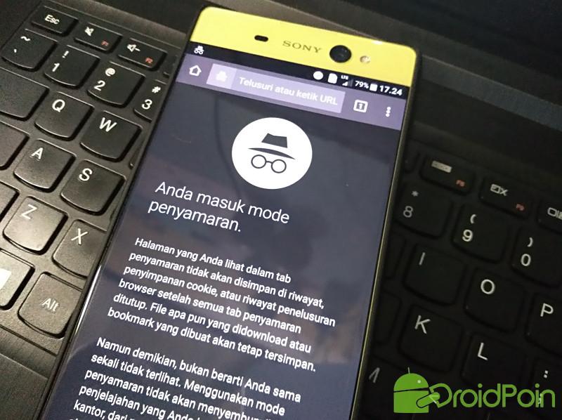 Cara Mengaktifkan Mode Penyamaran di Chrome Android