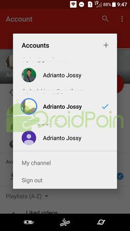 Cara Beralih Akun di YouTube (Android)