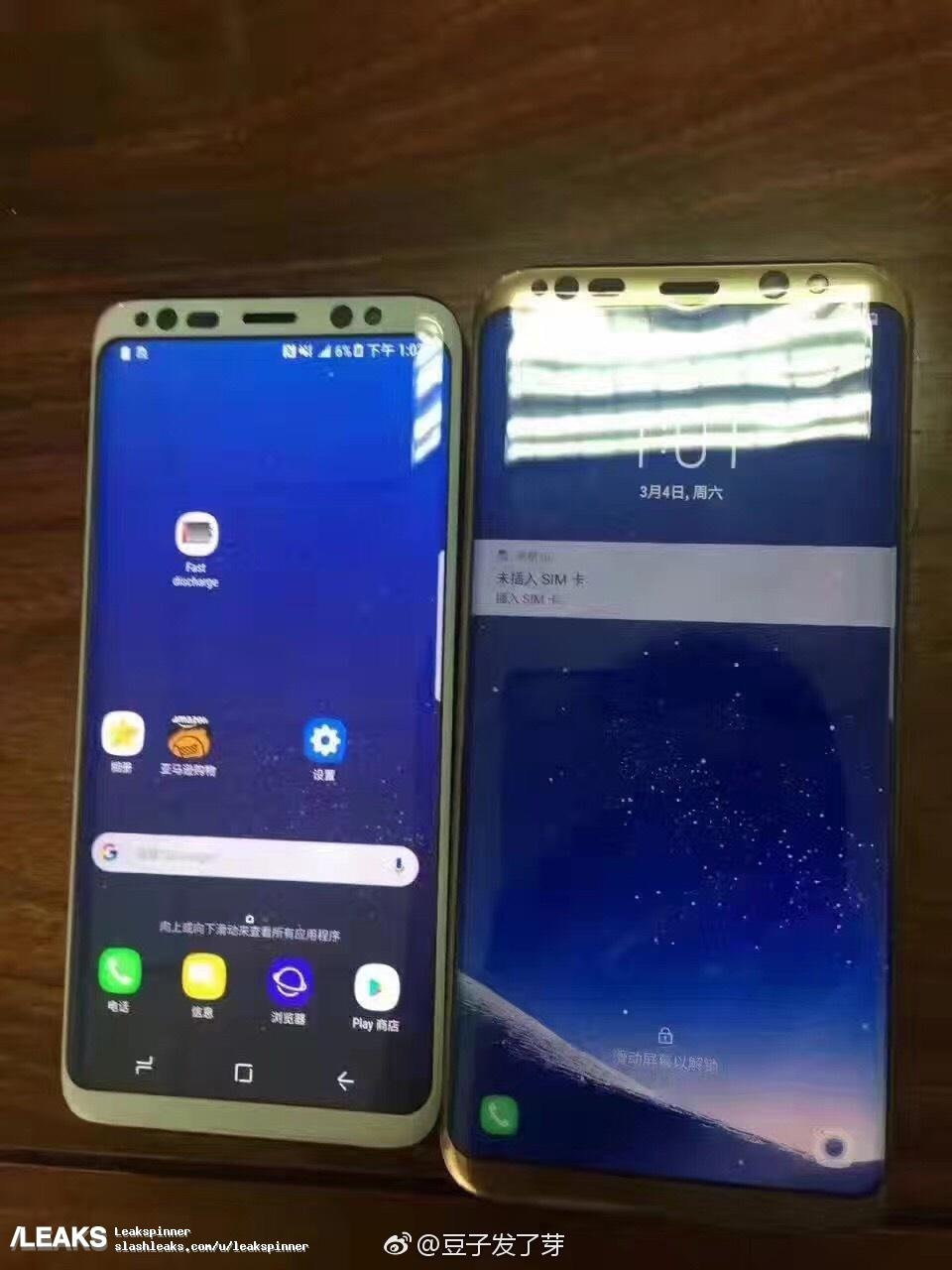 Wujud Samsung Galaxy S8 dan S8+ Kembali Bocor