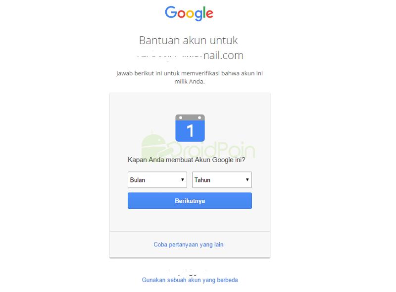 Mengatasi Masalah Tidak Bisa Masuk ke Akun Google - #Tips 1
