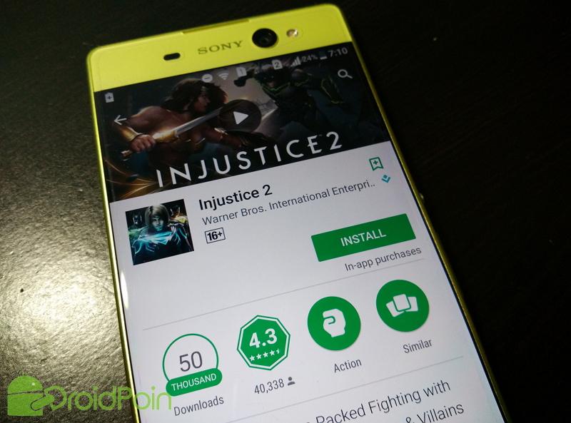 Ayo Download, Game Injustice 2 Resmi Tersedia di Play Store!