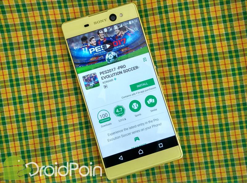 Ayo Download, PES 2017 Sudah Kick-off di Play Store!