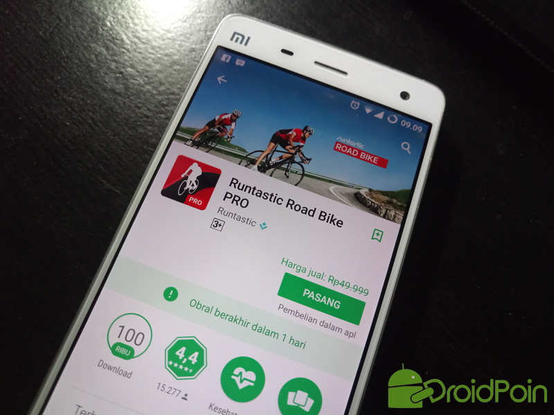 Runtastic Road Bike PRO Sedang Gratis, Ayo Segera Download!