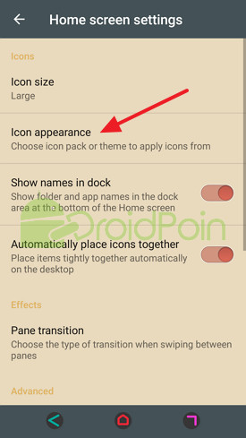 Cara Install Ikon Pack Customization di Android