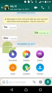 Cara Buat dan Kirim File GIF di WhatsApp Android