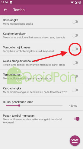 Cara Menambahkan Emoji di Keyboard SwiftKey