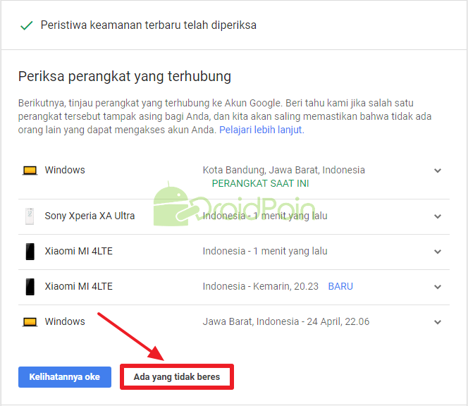Akun Google Kamu Dipakai Oleh Sesorang? Beginilah Cara Mengatasinya