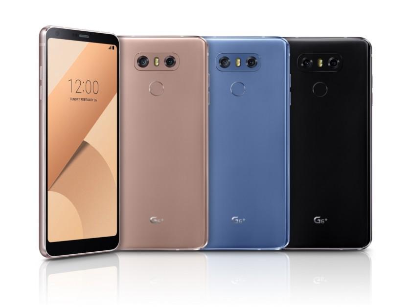 LG Resmi Merilis LG G6+, Berikut adalah Spesifikasi dan Harganya