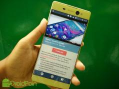 Update Nougat untuk Sony Xperia XA dan XA Ultra Resmi Tersedia di Asia Tenggara — Termasuk Indonesia!